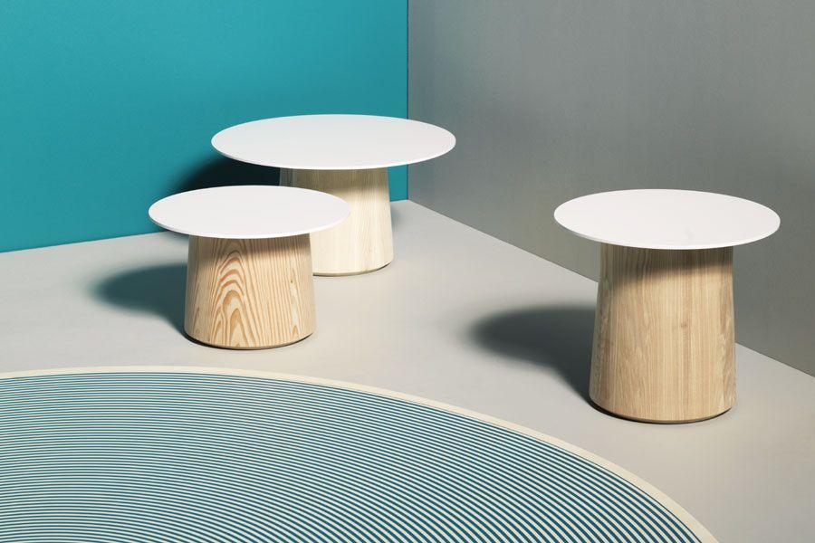 Designer Beistelltische mit runder Tischplatte