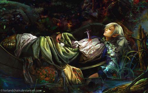 fantasy death - Google Search