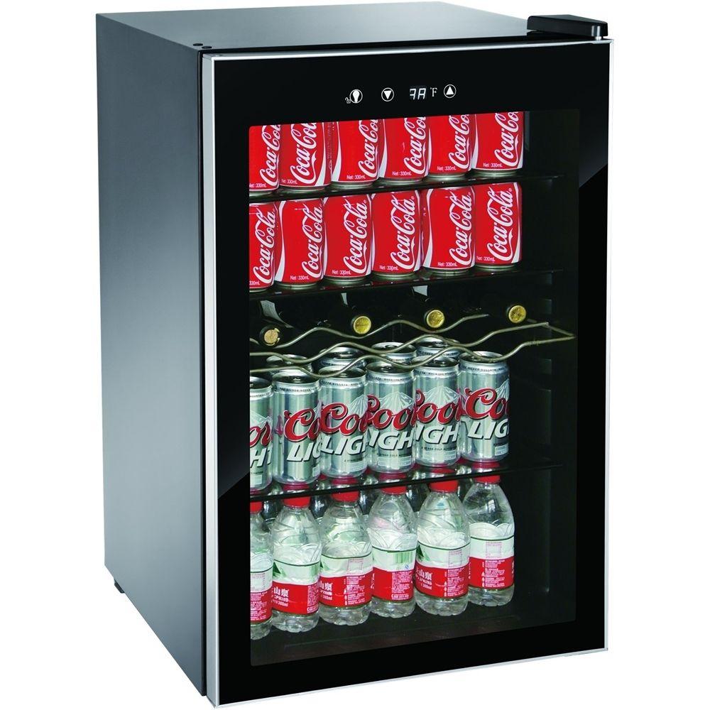 Igloo 36 Bottle Wine Refrigerator Black Stainless Steel Look Mis1530