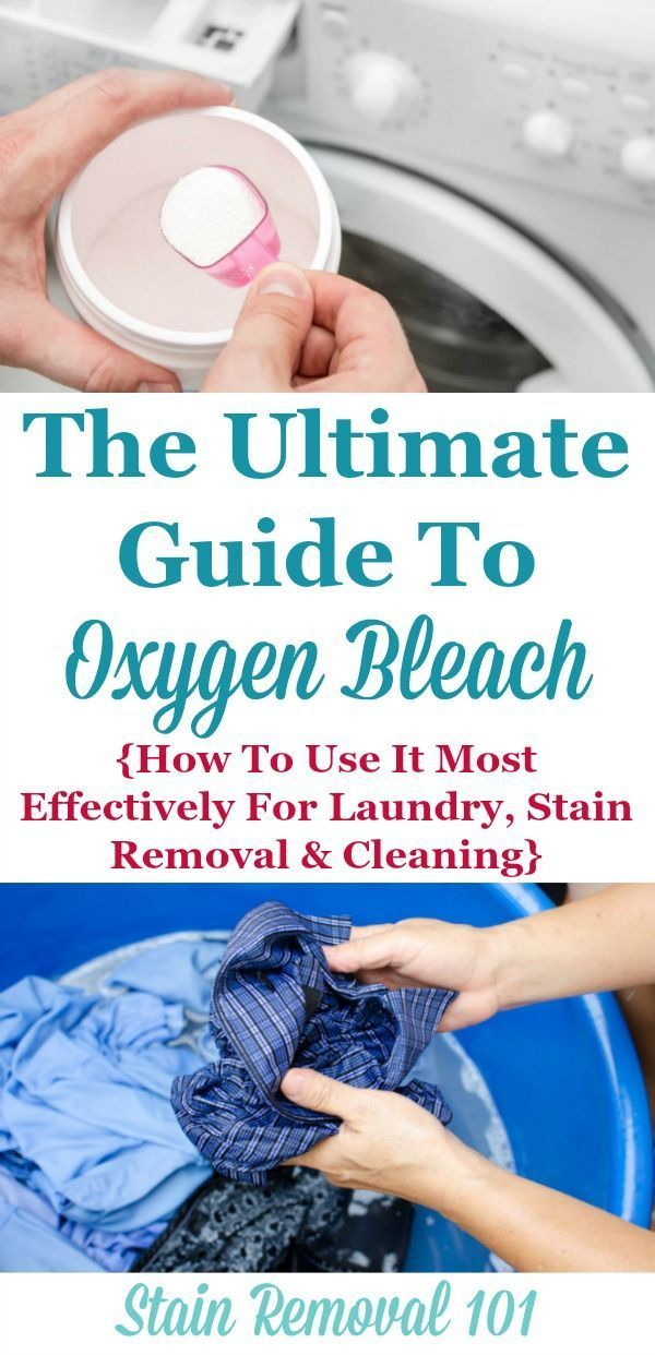 The Ultimate Guide To Oxygen Bleach Providing Tips And