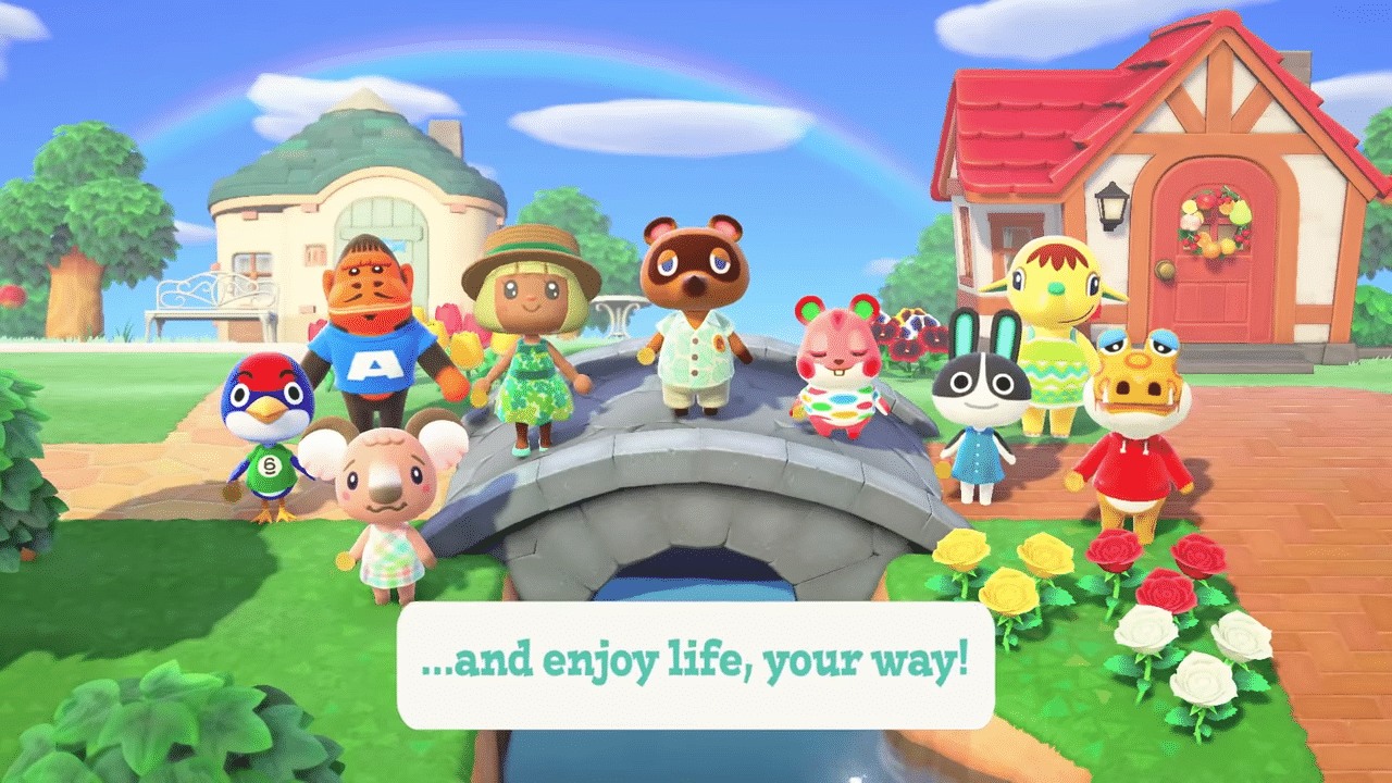 Animal Crossing New Horizons Your Island Trailer In 2020