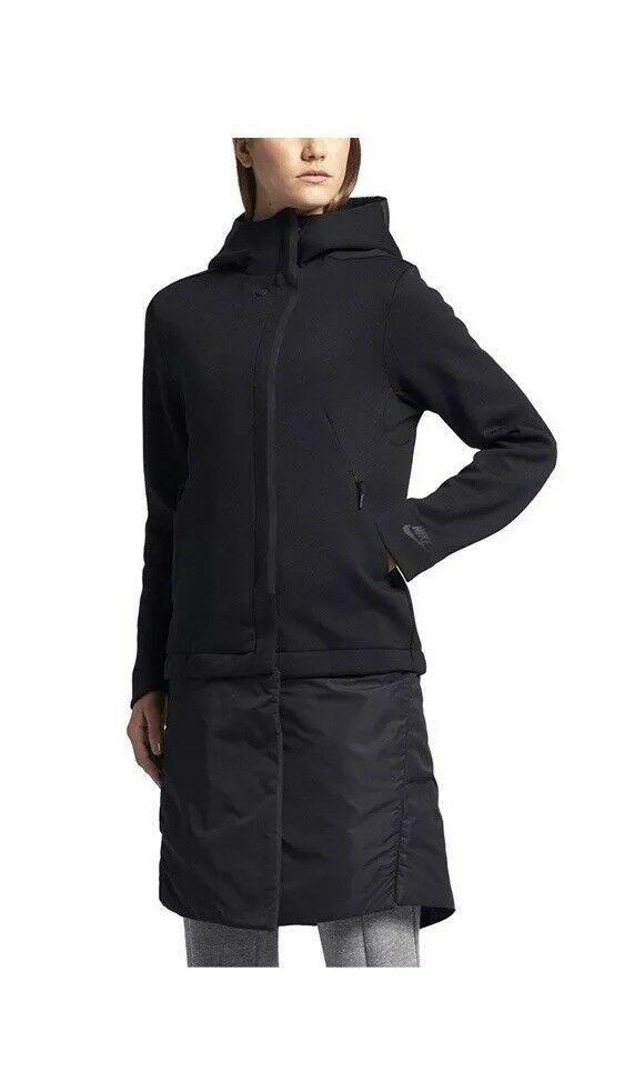 Hurley Winchester City Women s Trench Coat - Black  42c49b264d026