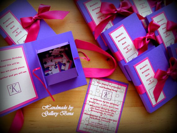 Puzzle Wedding Invitation Unique Birthday Cards By Gallerybena