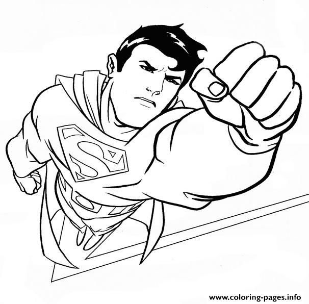 Print handsome superman dbe0 coloring pages | Coloring 4 Kids: DC ...