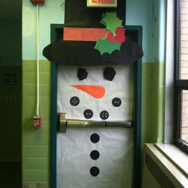 January Decorating Ideas: January Door Decorating Ideas