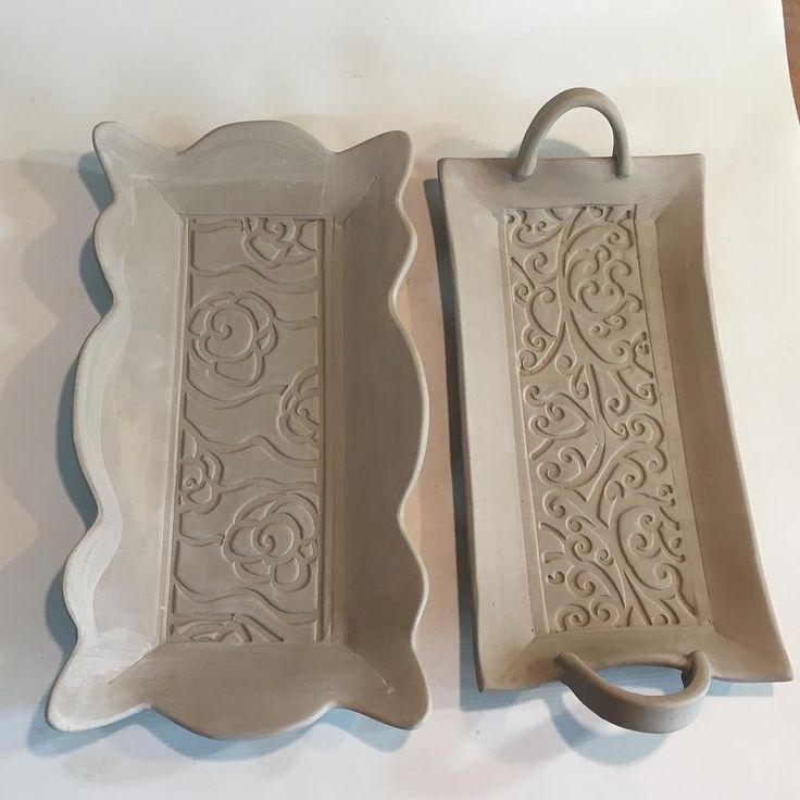 Butter Templates Pottery Slab Dish