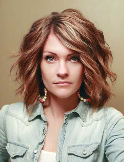 10 new short thick wavy hairstyles short haircuts haircuts and 10 new short thick wavy hairstyles urmus