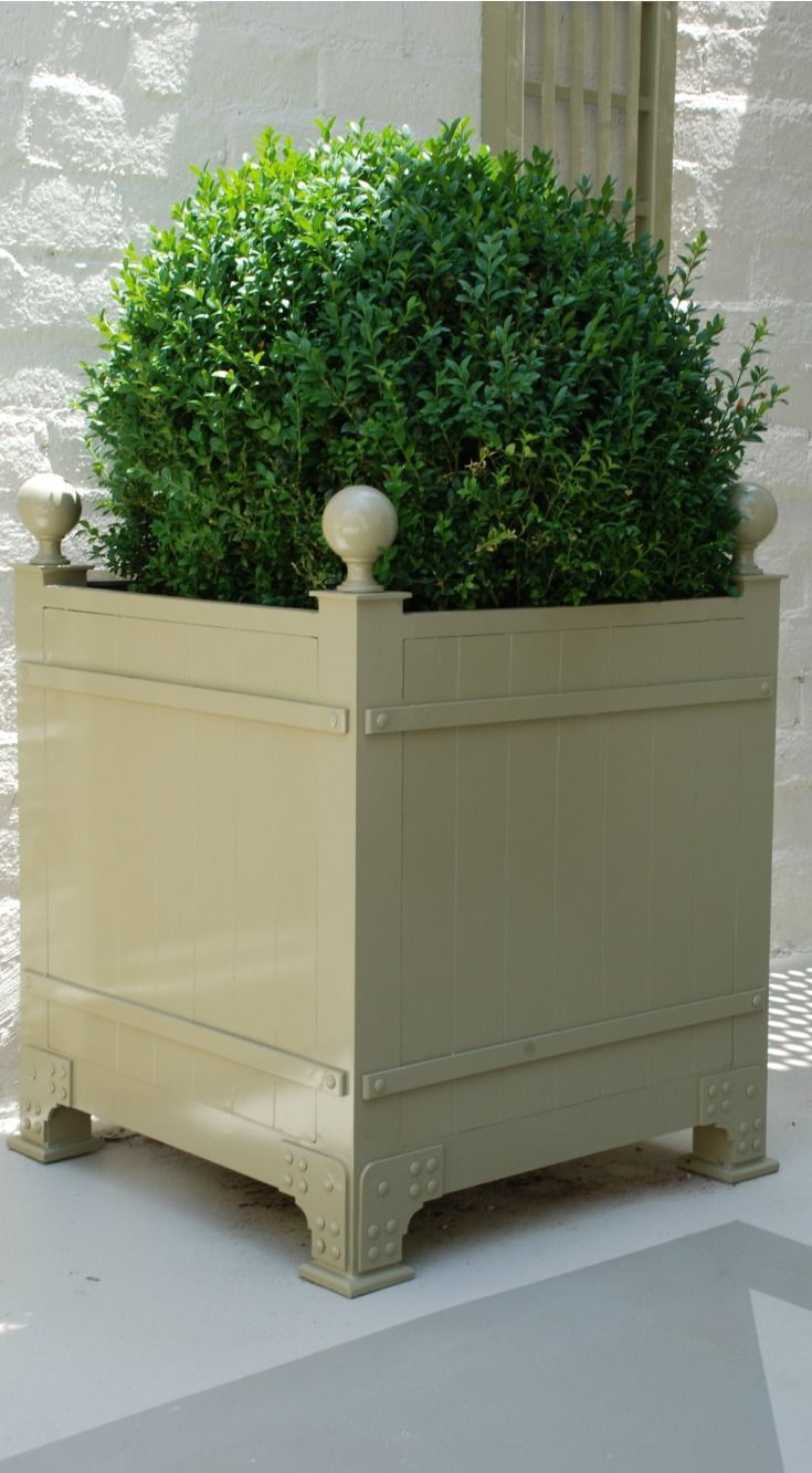 Elegant Box D Orangerie Outdoor Planter By Accents Of France