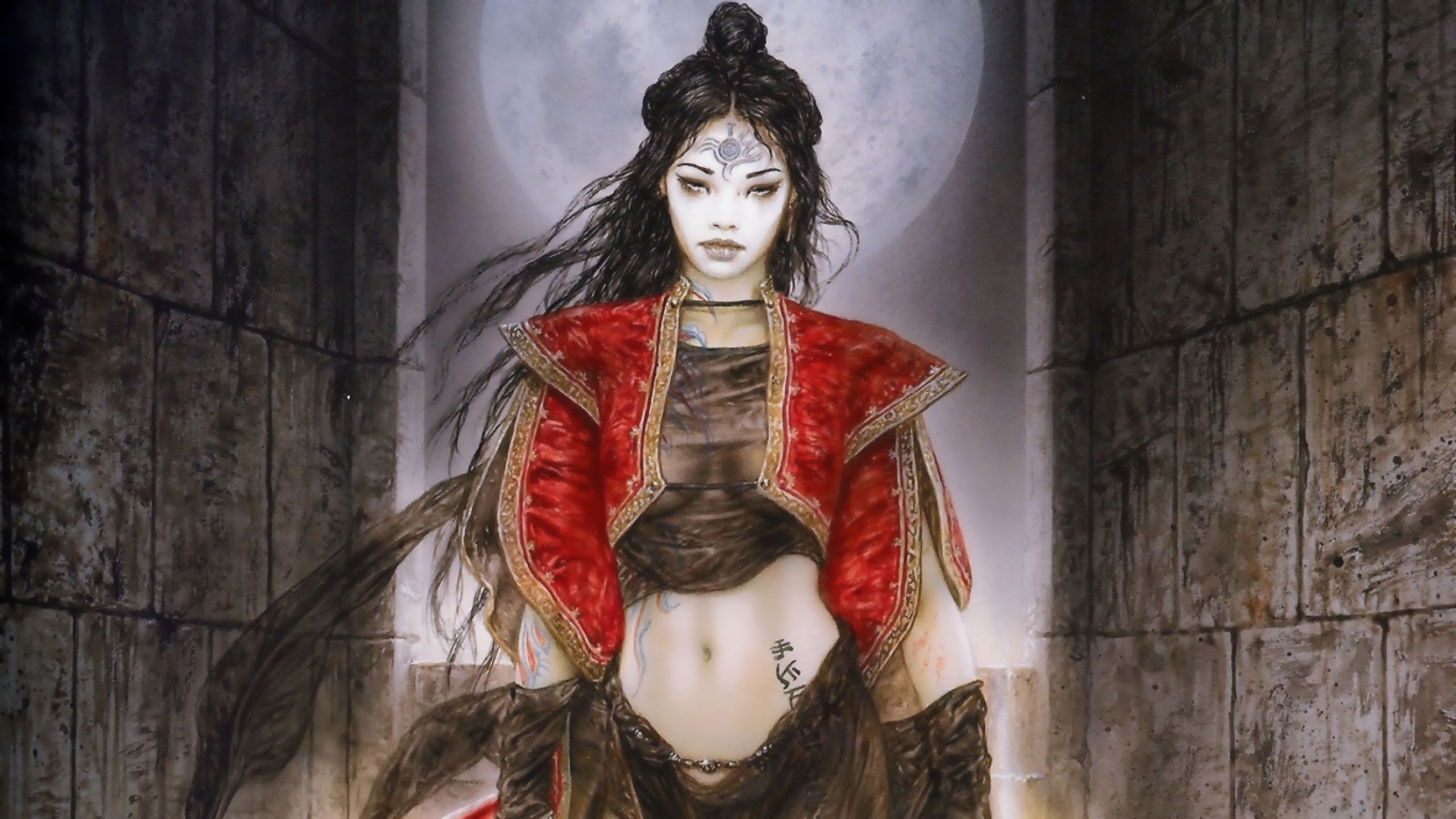 View download comment and rate this 2560x1440 luis royo wallpaper view download comment and rate this 2560x1440 luis royo wallpaper wallpaper abyss voltagebd Gallery