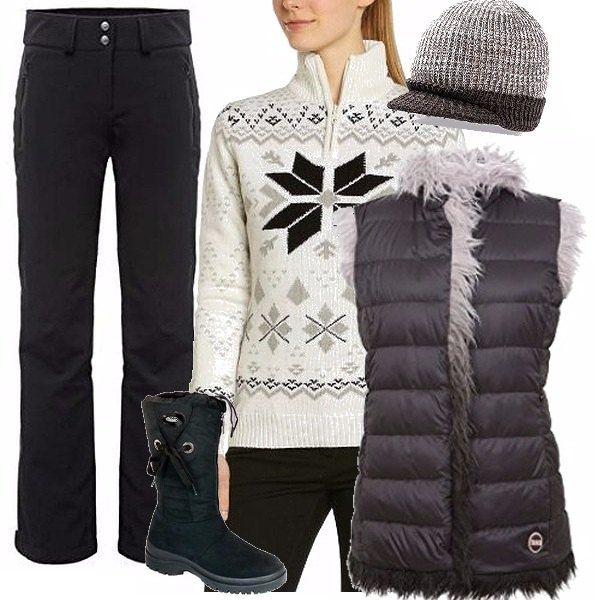 cheap for discount 40a49 467ee Abbigliamento tecnico e glamour per il tempo dopo lo sci ...