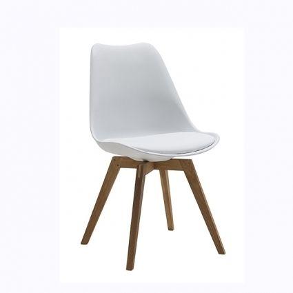Bess szék fehér/ tölgy láb – Étkezőszékek - ID Design Életterek ...