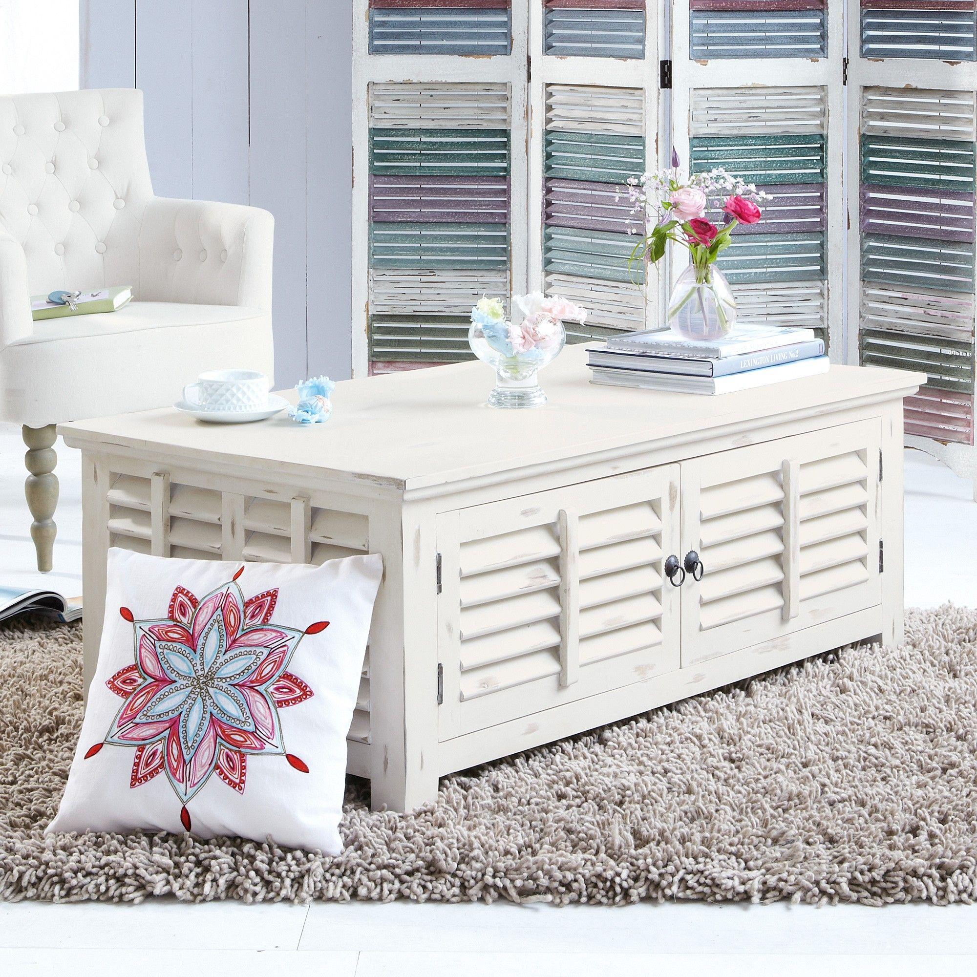 couchtisch weiss landhaus stil zuk nftige projekte. Black Bedroom Furniture Sets. Home Design Ideas