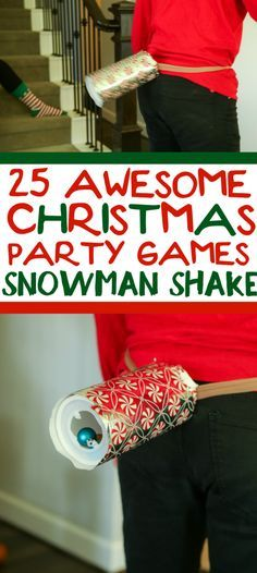 25 Hilarious Christmas Minute to Win It Games