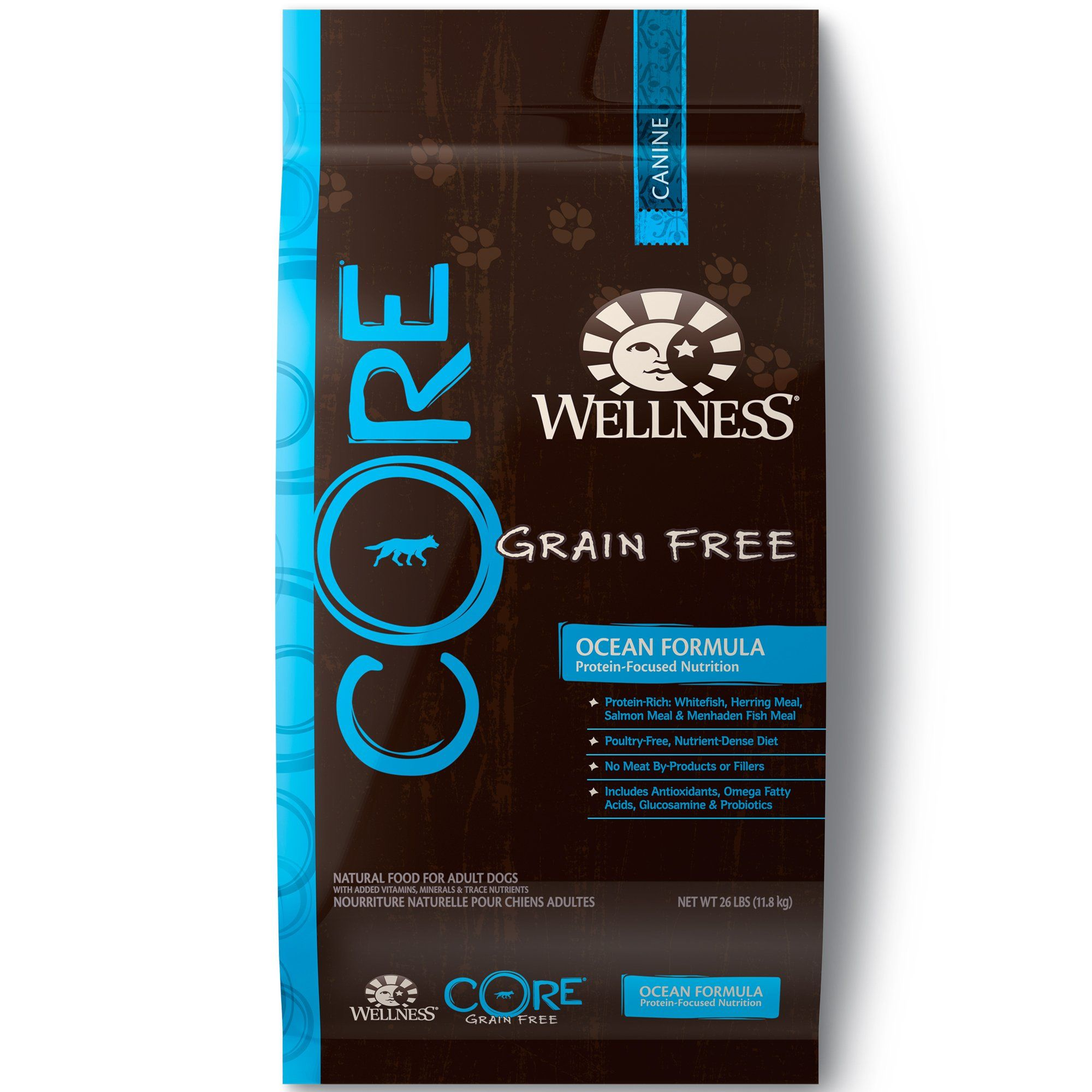 Wellness CORE Natural Grain Free Dry Dog Food Ocean