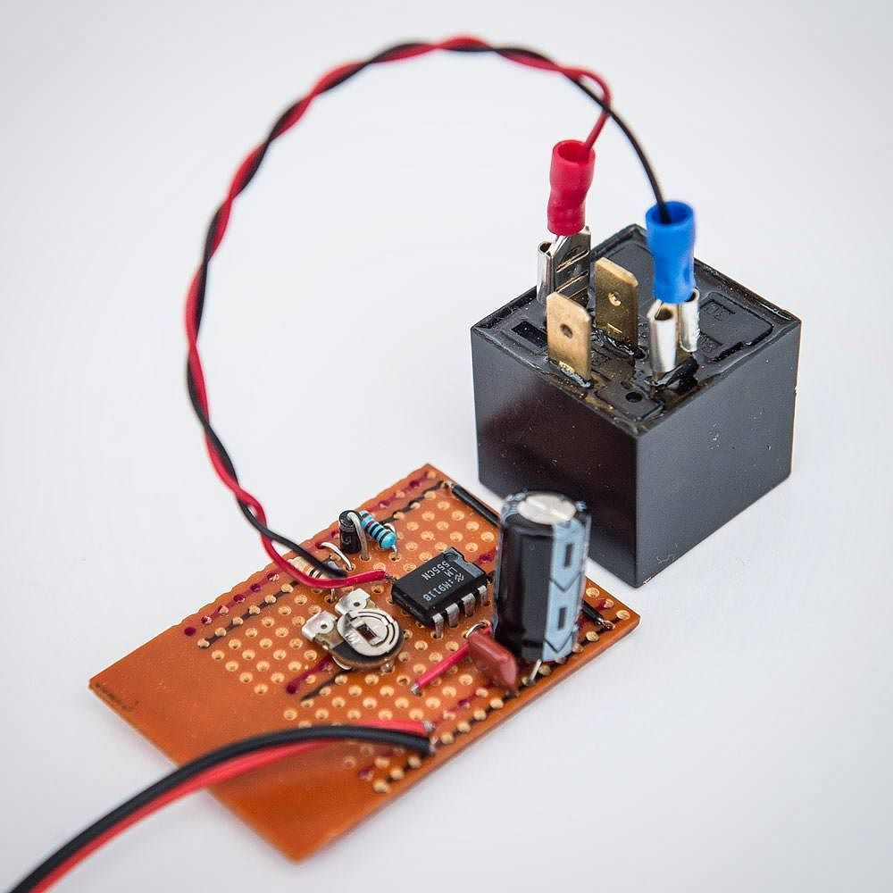 Timer Circuit Using 555 And Relay For The John Kent Automata Electronics