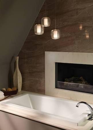 Image result for pendant lights in bathroom   Jon\'s house ...