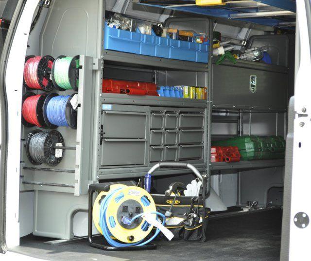 Work Van Storage Work Truck Storage Van Shelving Van Storage
