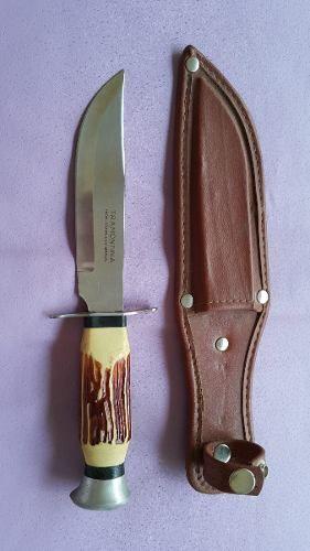 Cuchillo Tramontina Mango Simil Marfil Con Vaina De Cuero 640 00 Cuchillos Cuchillos Artesanales Cuero