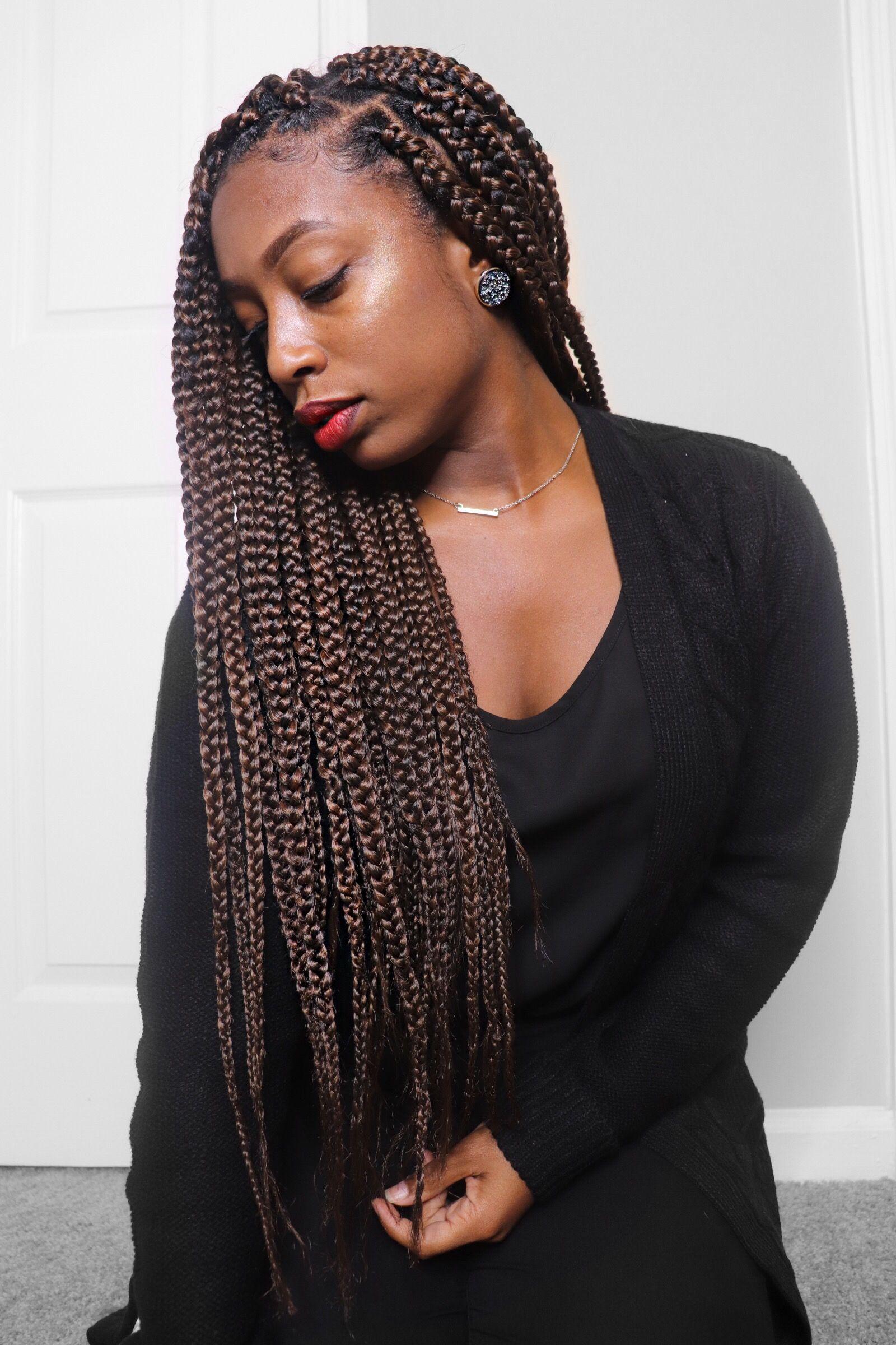 box braids inspo! color m1b/30 #lenalovecurls   girl with