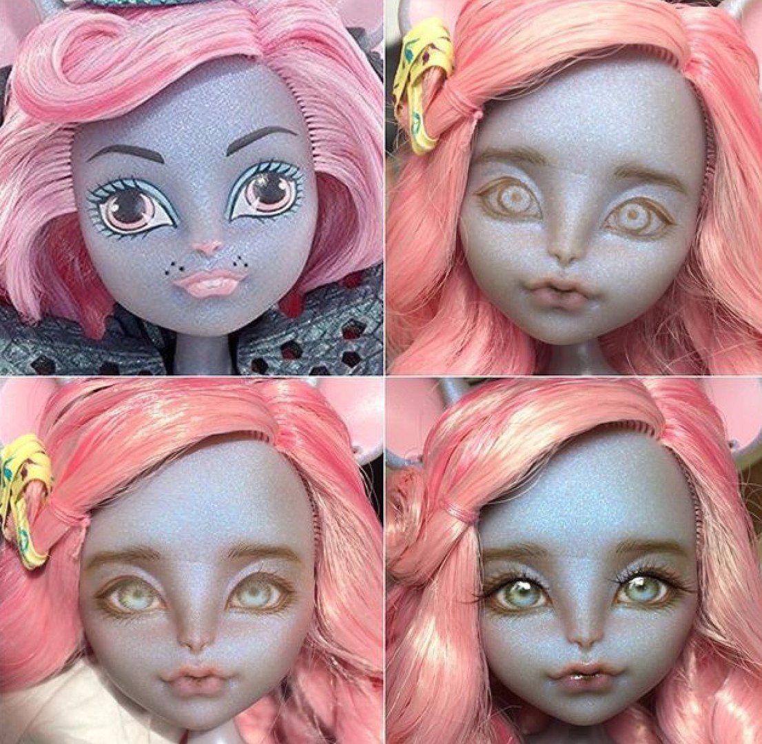 Картинки как делают кукол монстер хай