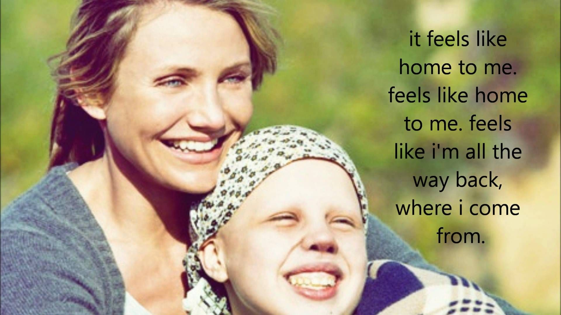 Feels Like Home Edwina Hayes Lyrics (My Sister's Keeper