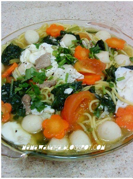Dari Dapur Madihaa Mee Rebus Terengganu Style Kak Nor Resep Makanan