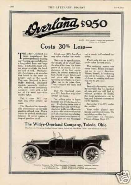 Willys-overland Car (1914)