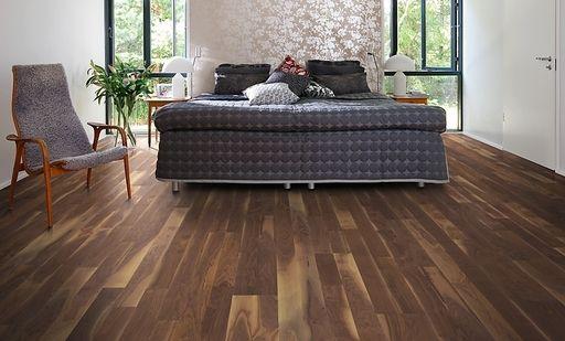 Kahrs Georgia Walnut Engineered Wood Flooring Oiled Kahrs Flooring