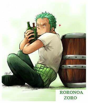 Un amor verde y de goma (Zoro x Luffy - zolu-) - zoro no tiene piedad...