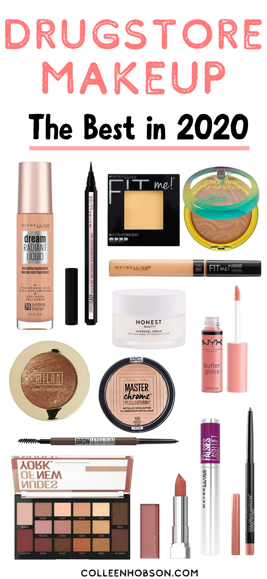 The Best Drugstore Makeup Products In 2020