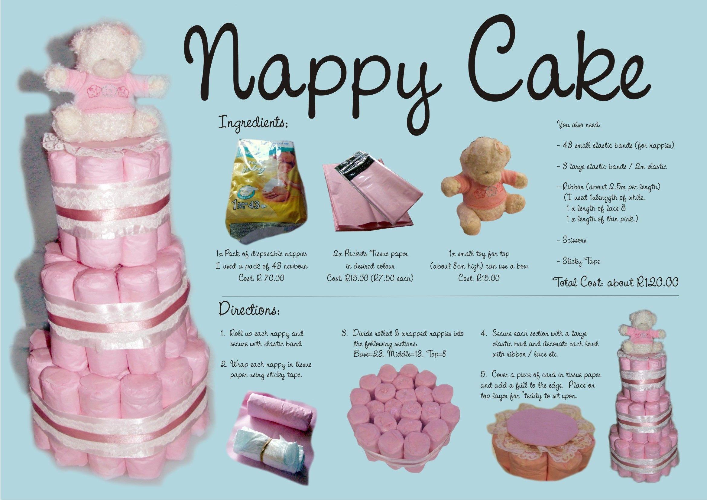 My Nappy Cake Tutorial