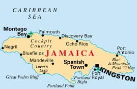 Kingston, Jamaica\'s absolute location is 17.9833* N, 76.8* W ...