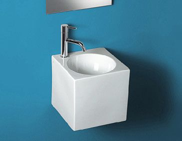 Hastings Cube Square Wall Mounted Sink