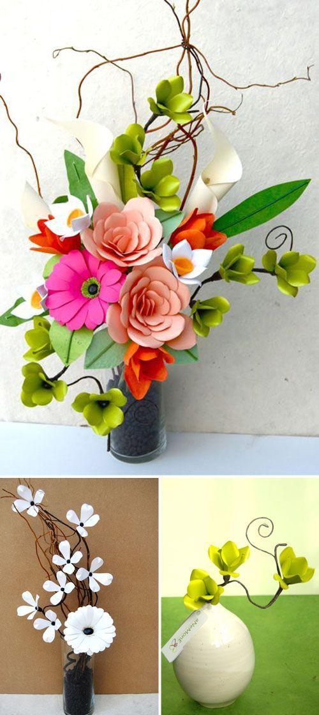 Wow amazing paper flowers wool pinterest flowers craft diy flower mightylinksfo