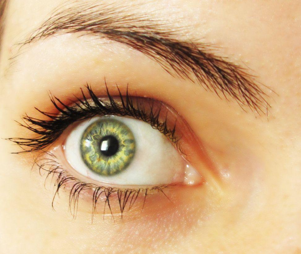 Modré oči fajčenie
