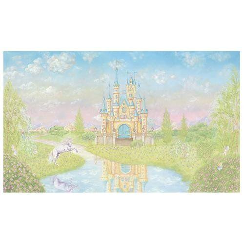 STORYBOOK CASTLE WALL MURAL | Princess Bedroom | Pinterest | Wall ...
