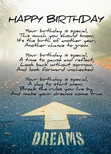Inspirational birthday messages. People will get jealous ...
