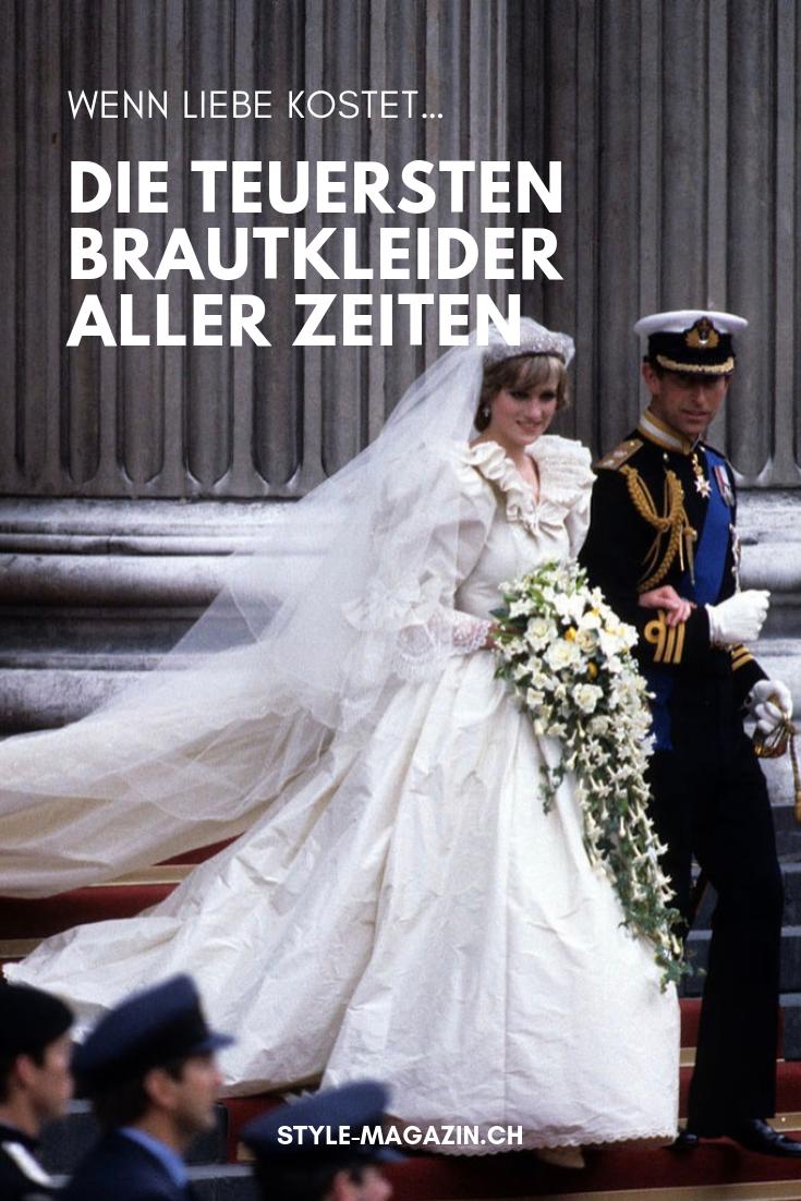 Die 17 teuersten Brautkleider aller Zeiten  Brautkleid, Braut
