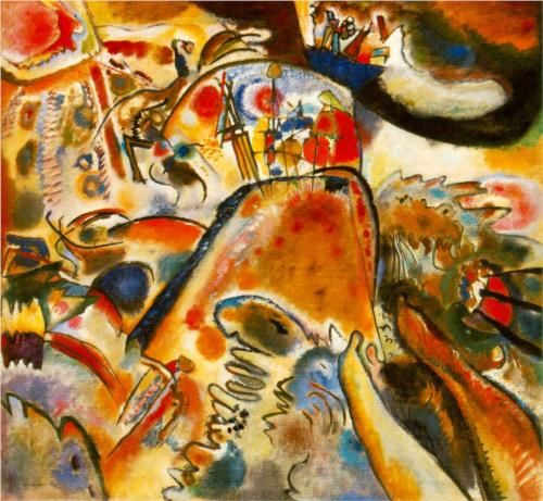 Small Pleasures - Wassily Kandinsky 1913