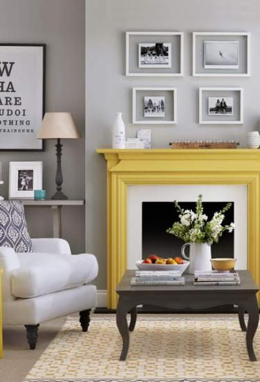 5 Easy Update Ideas Kylie M Interiors How To Your Fireplace Painting Sealing Brick Stone And More Plus Some Mantle