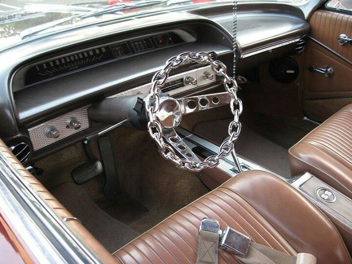 Chain Steering Wheel Chrome.