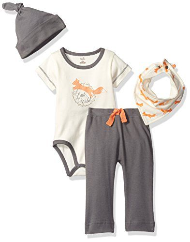Touched By Nature Baby Organic Layette Set 4 Piece Fox Https
