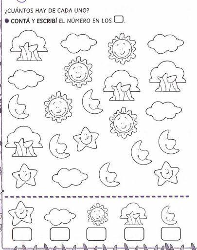 pintar y jugar: actividades para preescolar: | Educación | Pinterest ...
