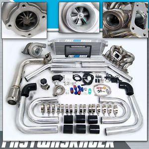00 04 Focus Zetec 2 0l Dohc T3 T3 T4 T04e Turbo Kit Ram Horn Turbo
