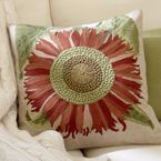 Ri-dic-ulously beautiful.  Pottery Barn  Now free shipping on all pillow covers