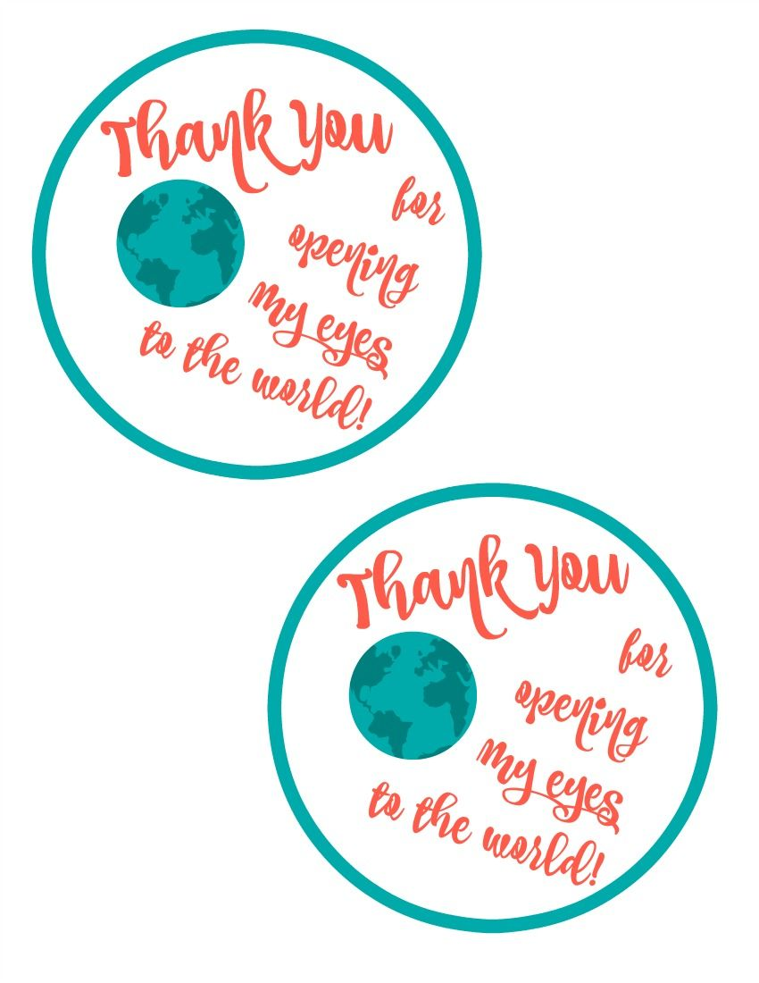 Free printable gift tag for diy map magnets teacher appreciation free printable gift tag for diy map magnets teacher appreciation idea negle Gallery