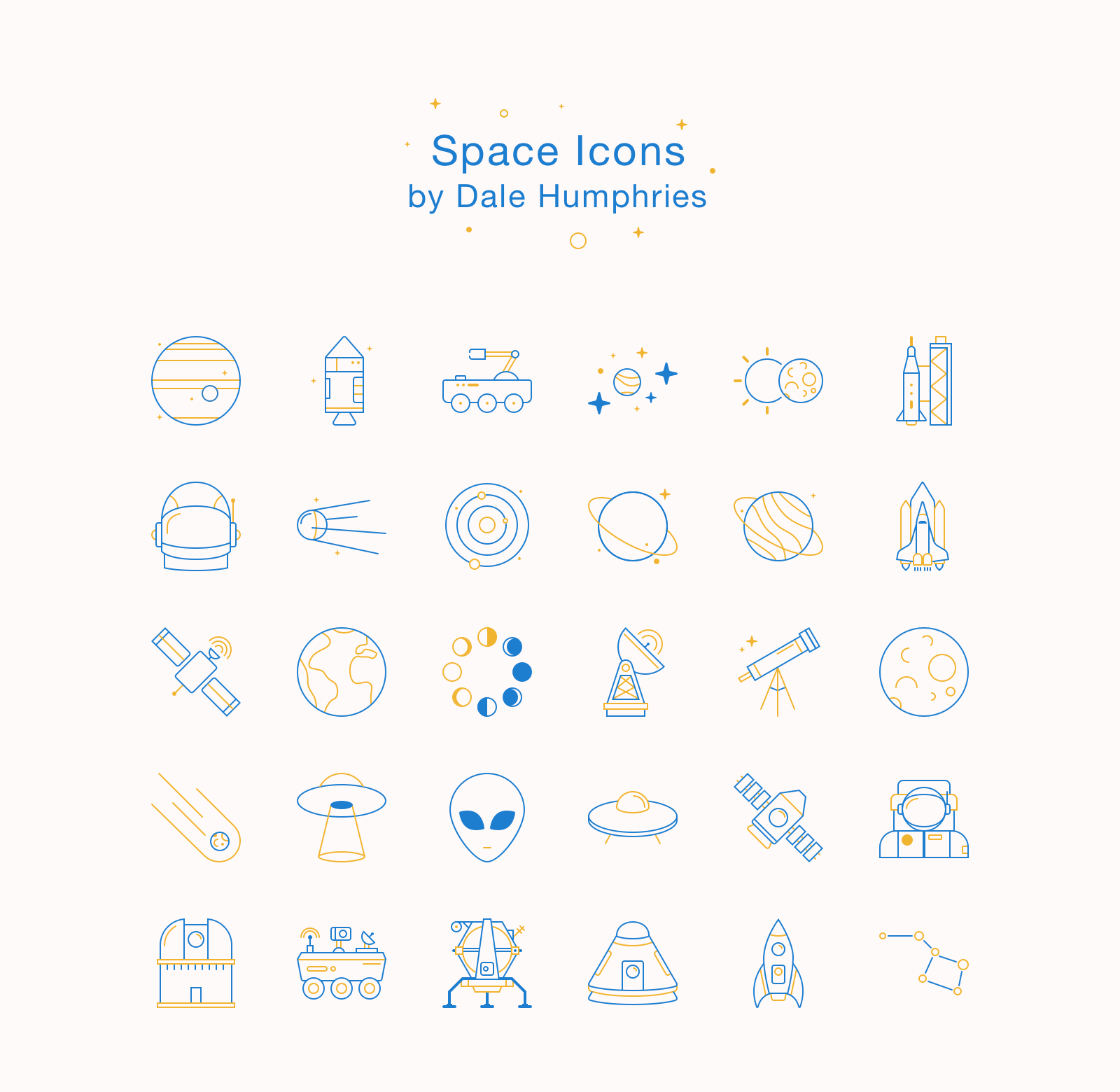 freebie astronomy space icons ai sketch svg png