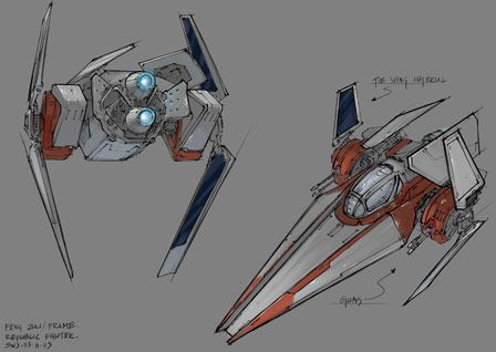 Star Wars Episode Iii Revenge Of The Sith Star Wars Concept Art Star Wars Ships Star Wars Spaceships