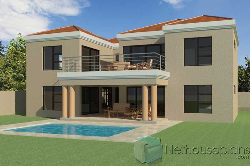 4 Bedroom House Plans T335d Double Storey House House Plan Gallery Affordable House Plans