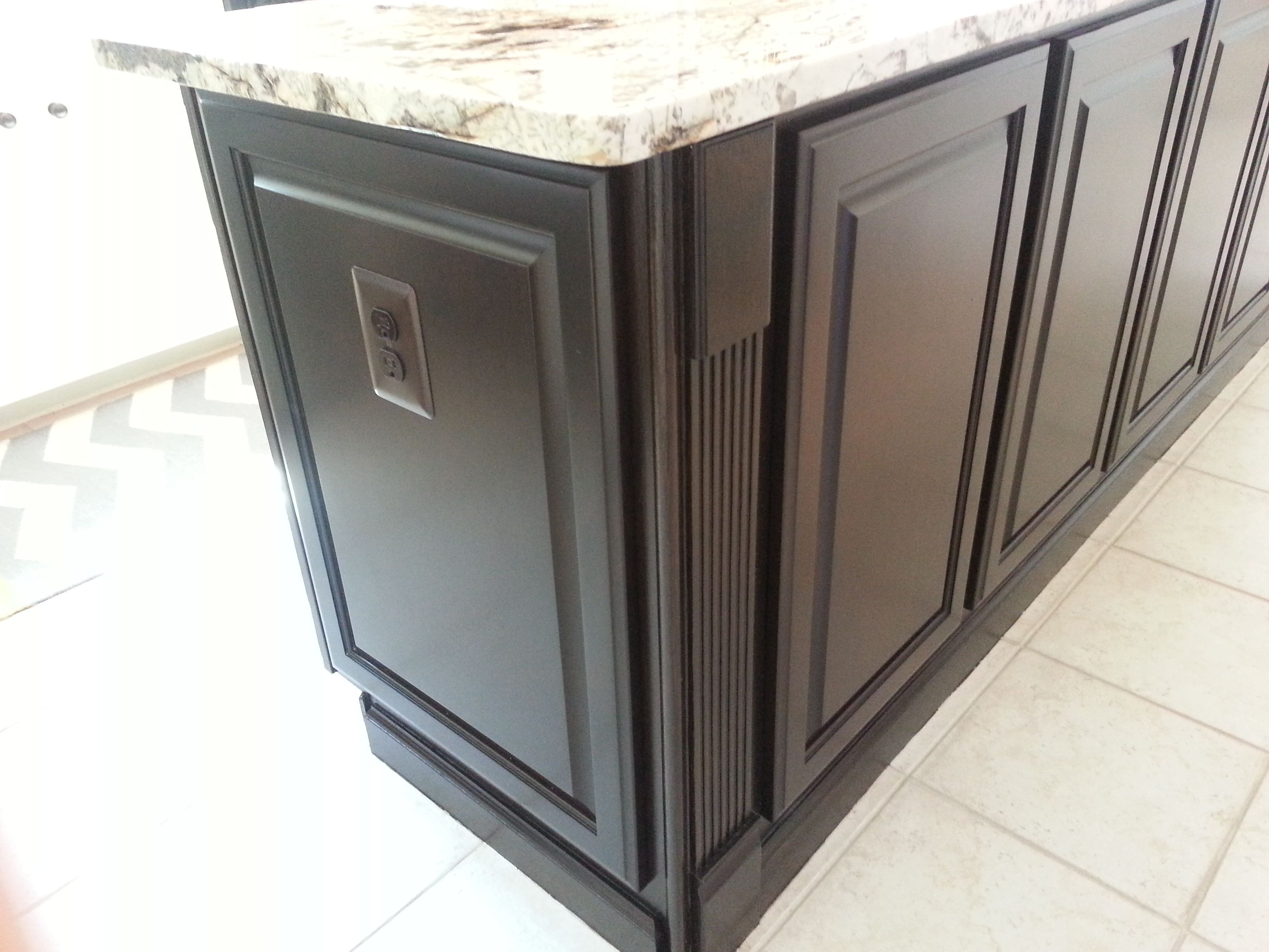 from builders grade golden oak cabinets to a kitchen with ...